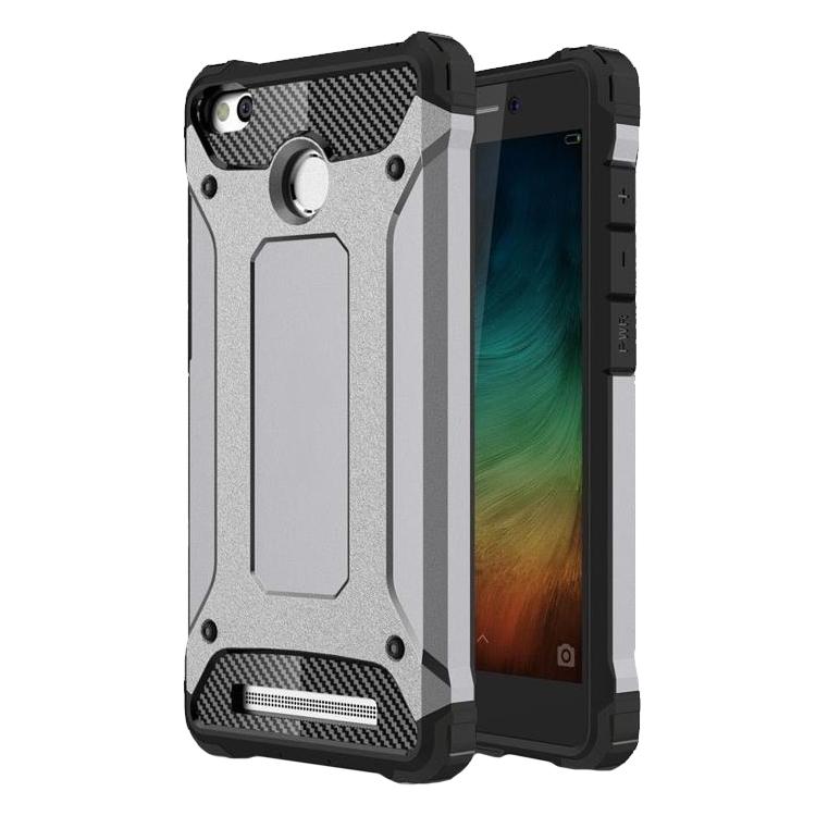 Ανθεκτική Θήκη Tech Armor Xiaomi Redmi 3S/ 3 Pro - Grey (9456) - OEM