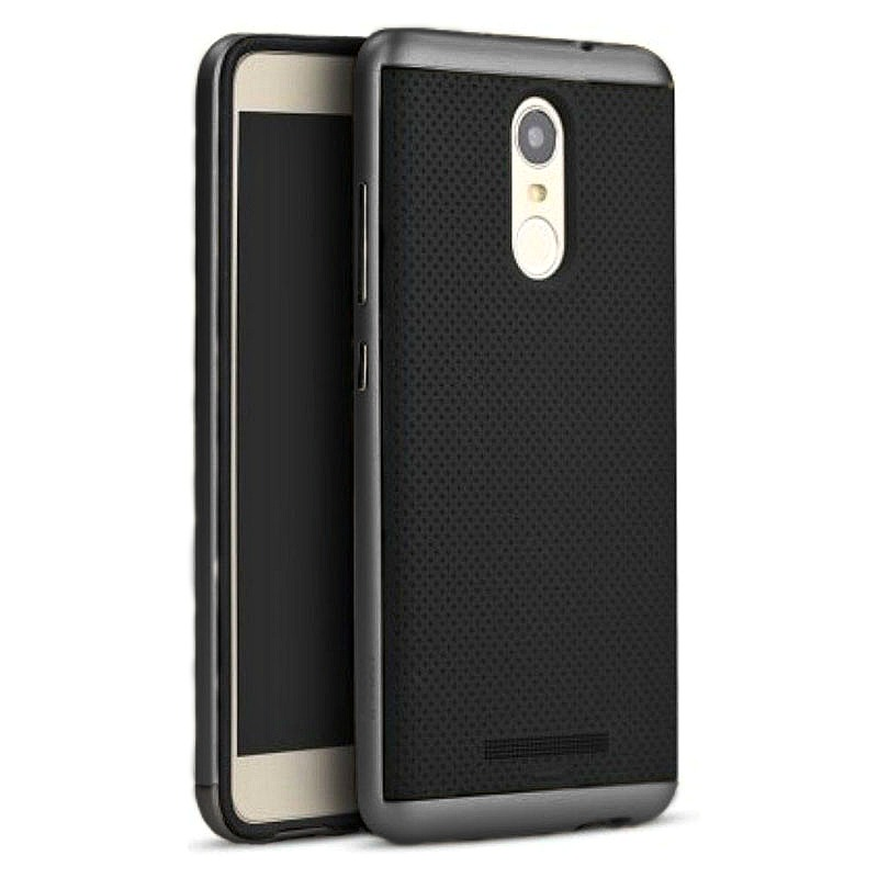 Ipaky Θήκη Hybrid Xiaomi Redmi Note 3 - Black/Grey (8689)