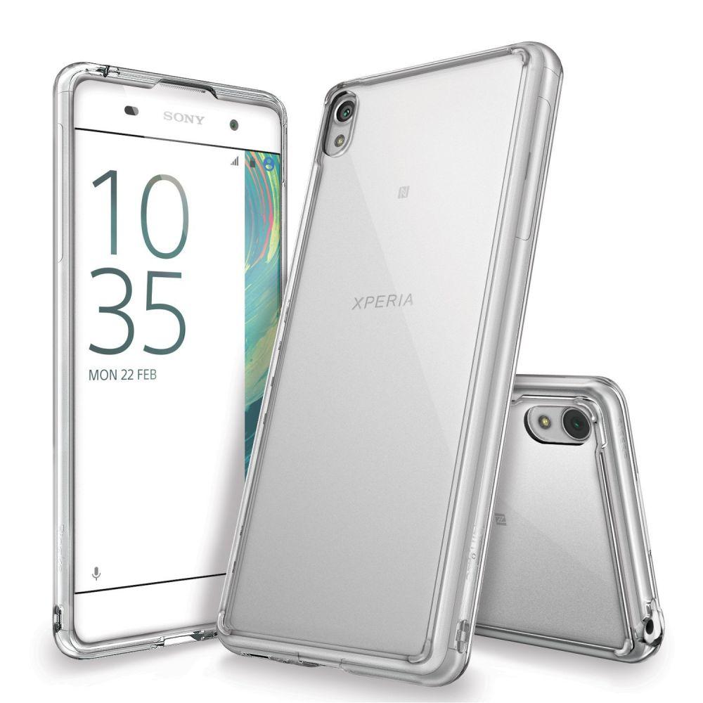 Ringke (Fusion) Θήκη Sony Xperia XA με TPU Bumper - Clear