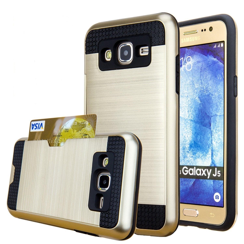 Θήκη Samsung Galaxy J5 (2015) - Gold (9965) - OEM