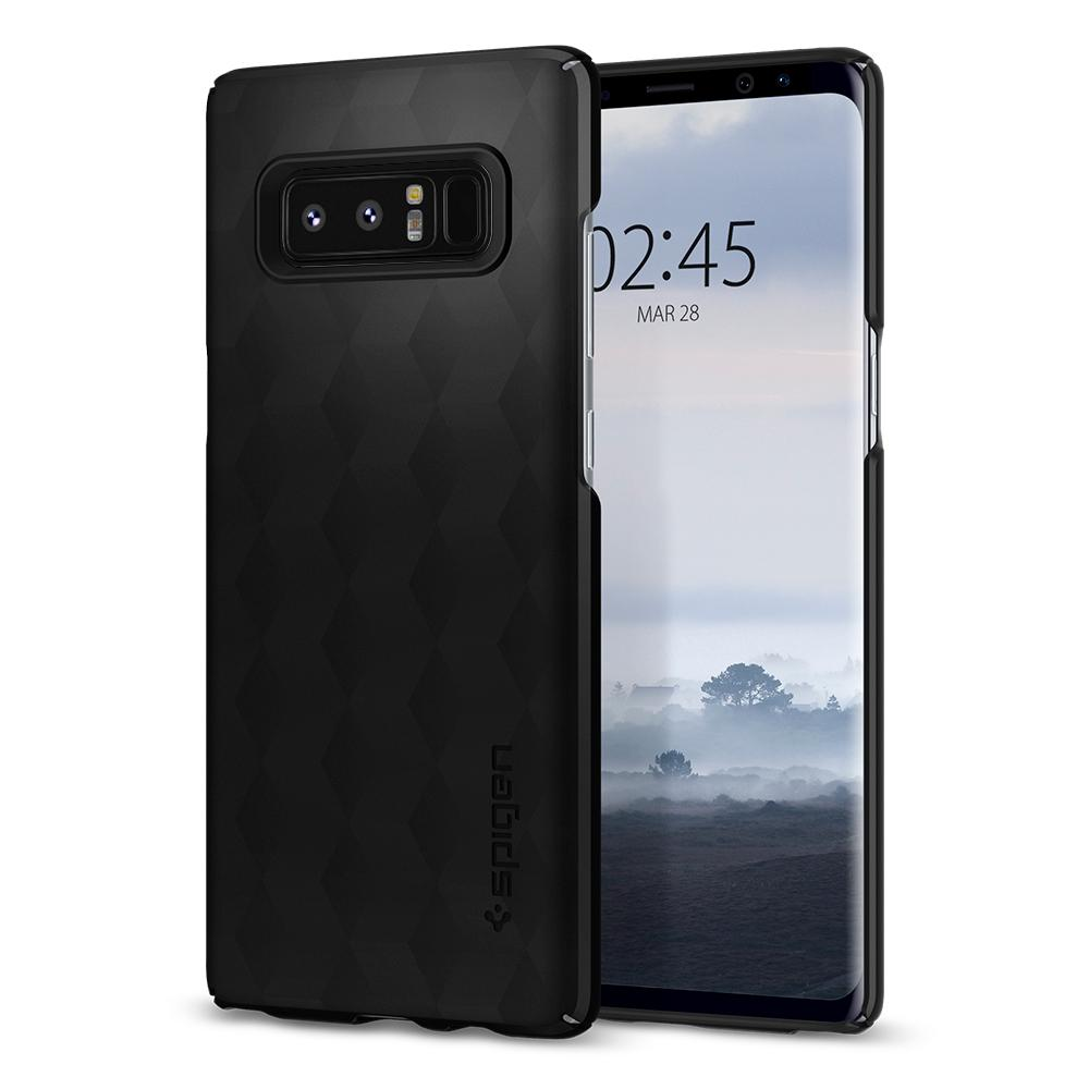 Spigen Θήκη Thin Fit Samsung Galaxy Galaxy Note 8 - Matte Black (587CS22051)