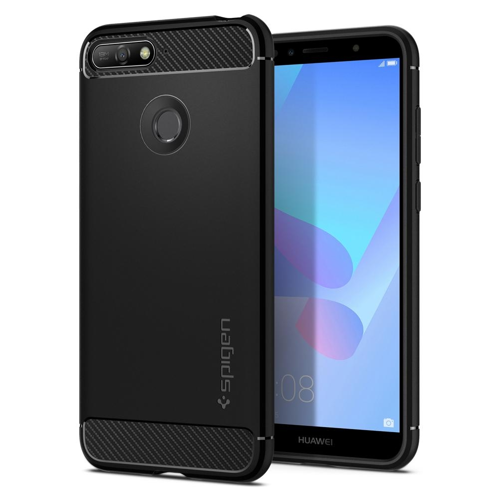 Spigen Θήκη Rugged Armor Huawei Y6 Prime 2018 - Black (L30CS24128)