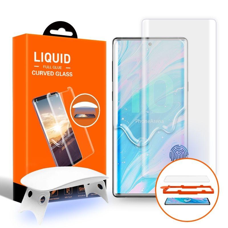 T-MAX Liquid Full Glue 3D Tempered Glass - Σύστημα προστασίας οθόνης Samsung Galaxy Note 10 (51741)
