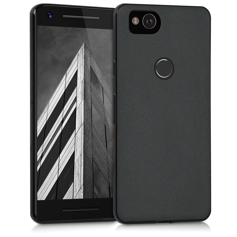 KW Θήκη Σιλικόνης Google Pixel 2 - Black (43081.47)
