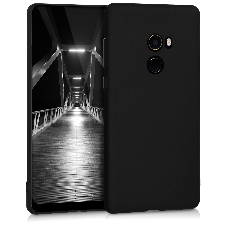 KW Θήκη Σιλικόνης Xiaomi Mi Mix 2 - Black (43506.47)