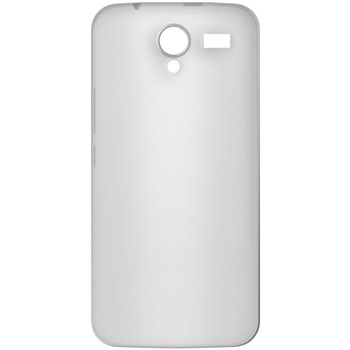 Ultra Thin Θήκη Σιλικόνης MLS iQtalk Titan 4G - Transparent White (11.CC.520.146 θήκες κινητών