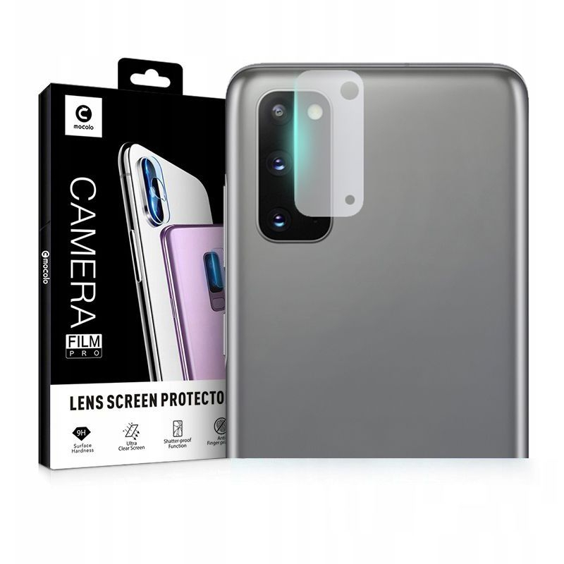 Mocolo TG+ Glass Camera Protector - Αντιχαρακτικό Προστατευτικό Γυαλί για Φακό Κάμερας Samsung Galaxy S20 (63201)
