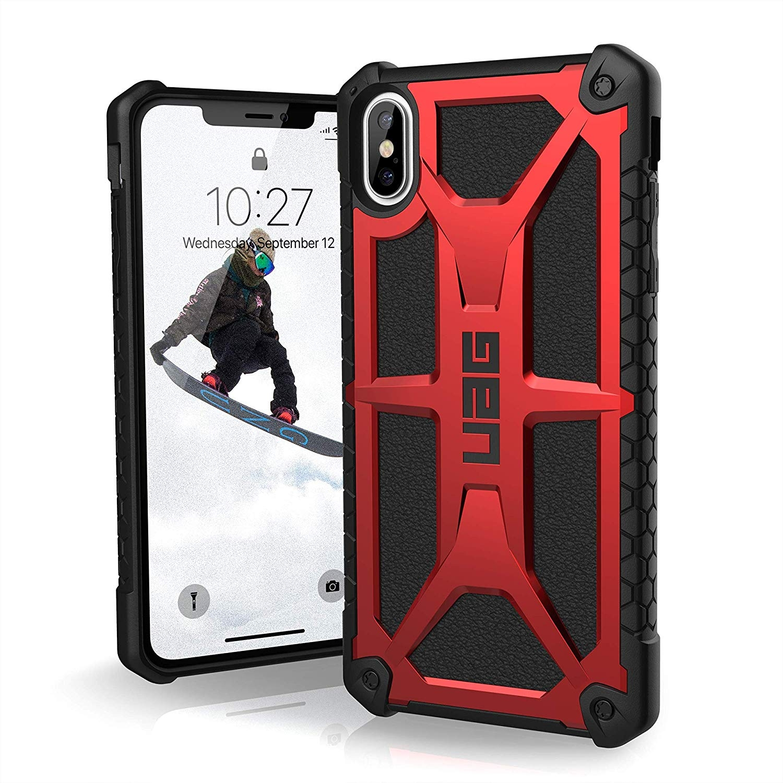 UAG Θήκη Monarch Series iPhone XS Max - Black / Red (111101119494)