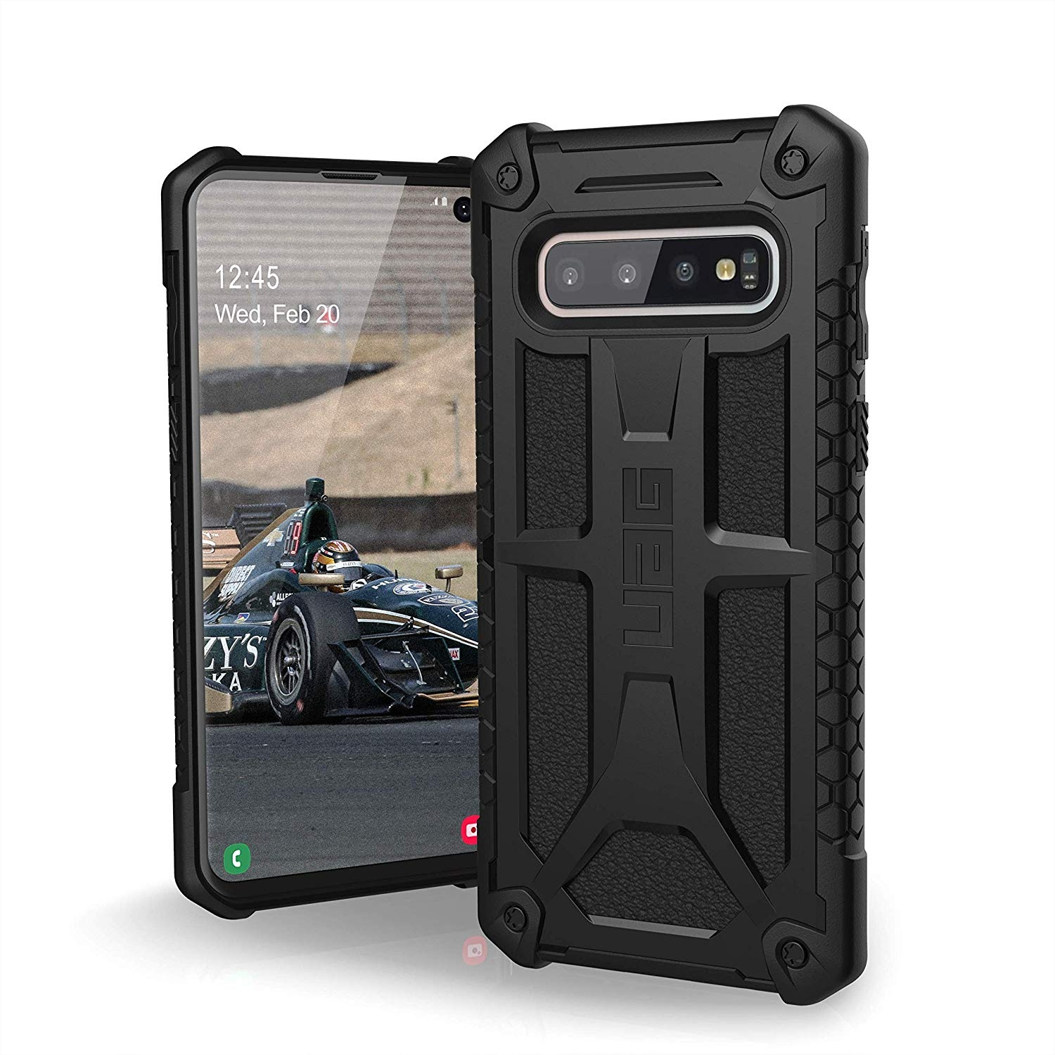 UAG Θήκη Monarch Light Rugged Samsung Galaxy S10 - Black (211341114040)