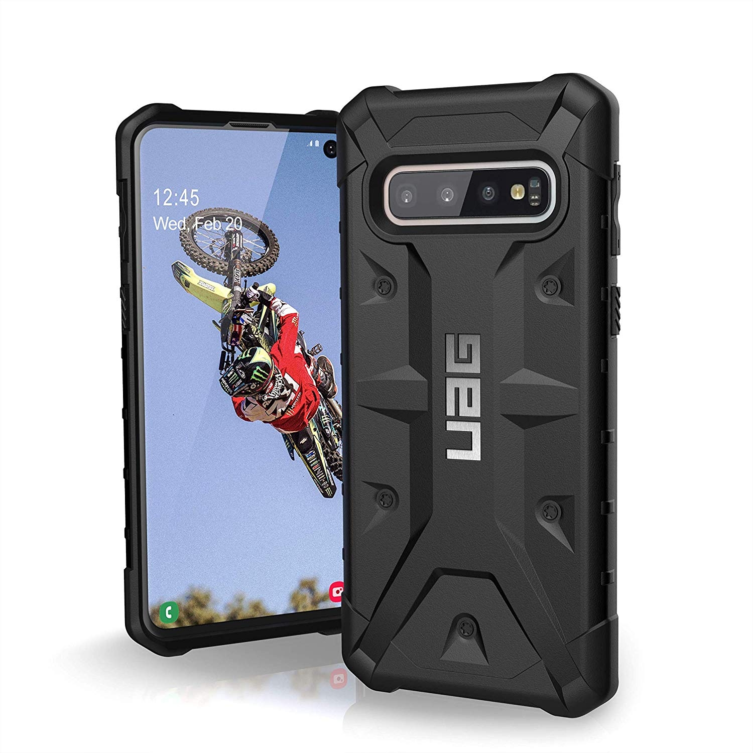 UAG Θήκη Urban Armor Gear Pathfinder Samsung Galaxy S10 - Black (211347114040)