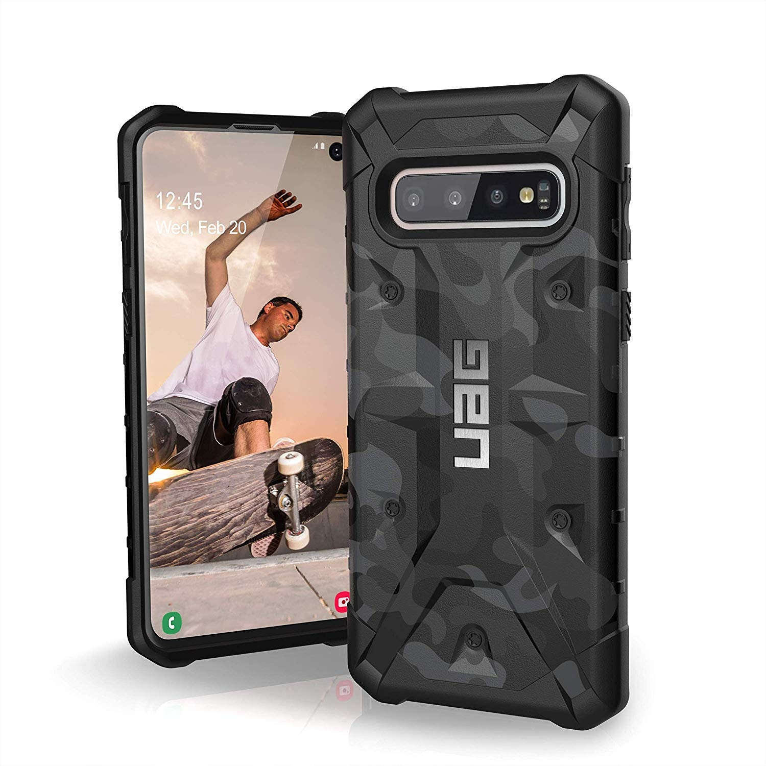 UAG Θήκη Urban Armor Gear Pathfinder Samsung Galaxy S10 - Midnight Camo (211347114061)