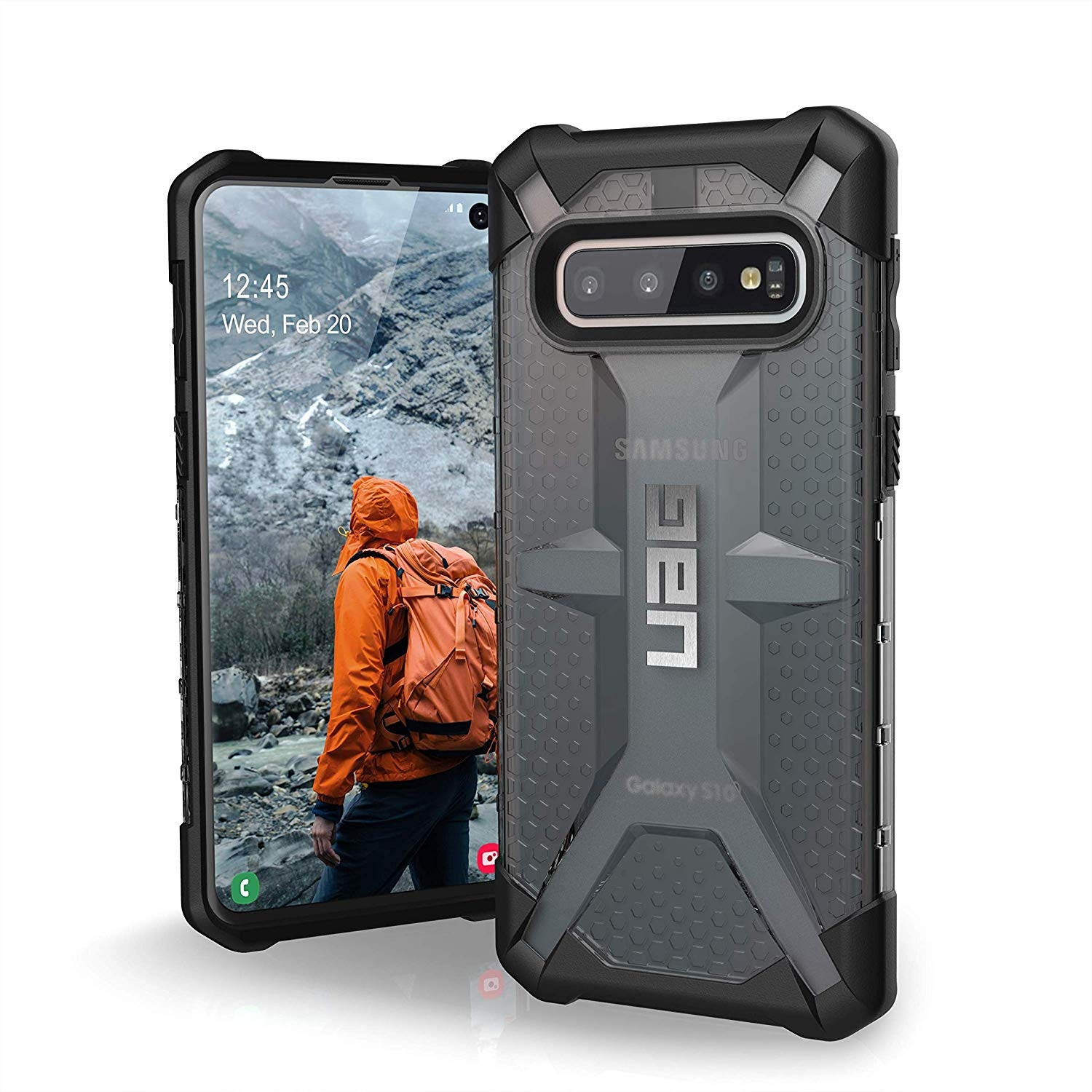 UAG Θήκη Plasma Feather-Light Rugged Samsung Galaxy S10 - Ash (211343113131)