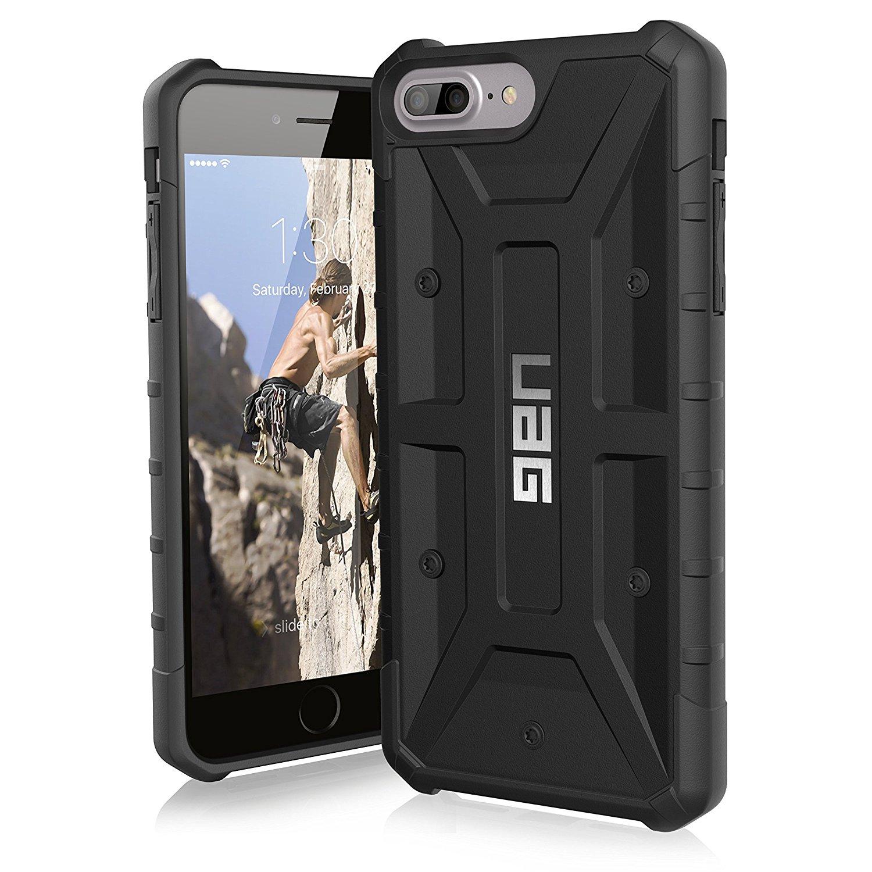 UAG Θήκη Feather-Light Composite iPhone 8 Plus / iPhone 7 Plus - Black (8551)