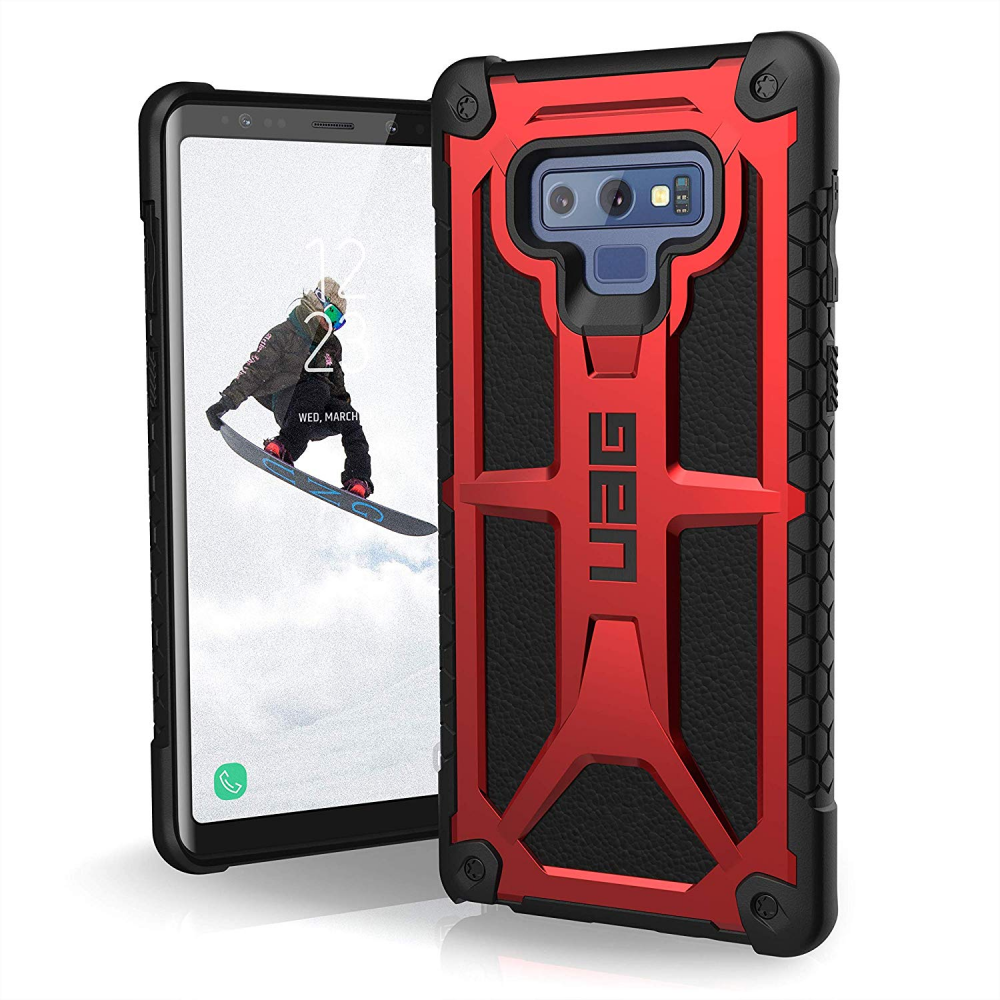 UAG Θήκη Monarch Light Rugged Samsung Galaxy Note 9 - Crimson (211051119494)