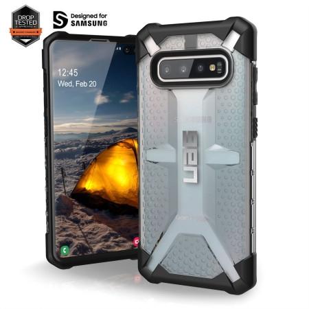 UAG Θήκη Plasma Urban Armor Samsung Galaxy S10 Plus - Ice (211353114343)