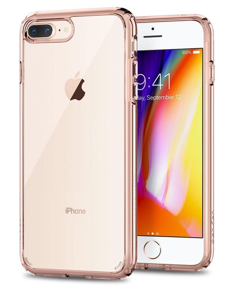 Spigen Θήκη Ultra Hybrid 2 iPhone 8 Plus / 7 Plus - Rose Crystal (043CS21136)