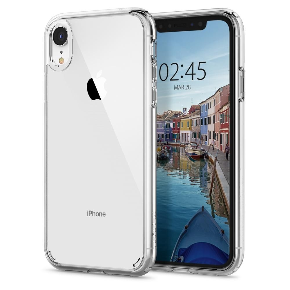 Spigen Ultra Hybrid Θήκη iPhone XR - Crystal Clear (064CS24873)