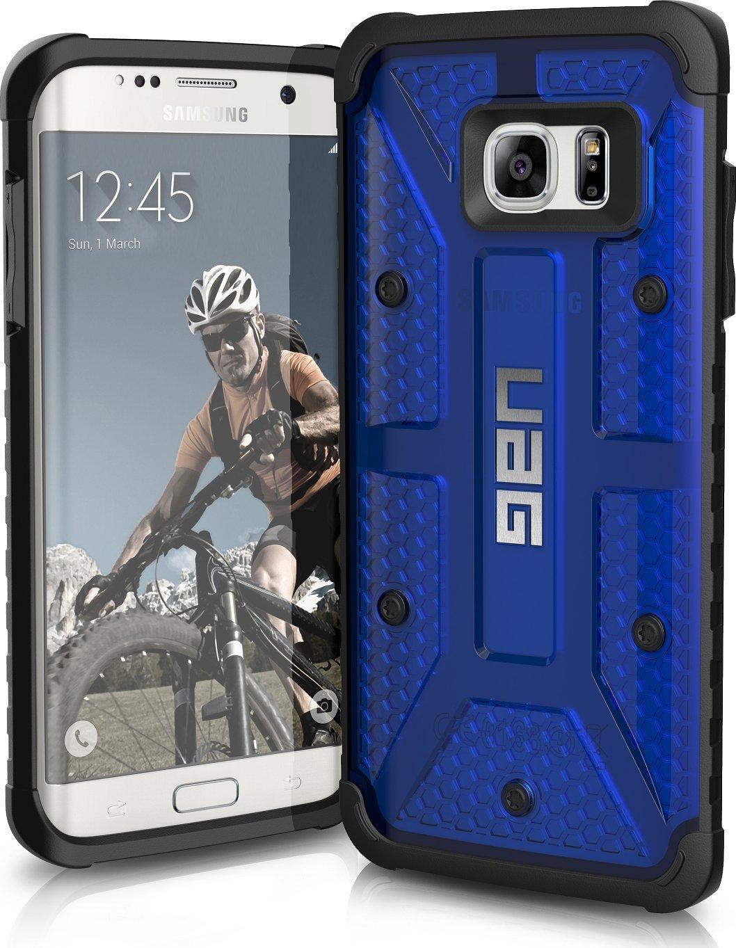 UAG Θήκη Feather-Light Composite Samsung Galaxy S7 Edge - Cobalt (GLXS7EDGE-CBT)