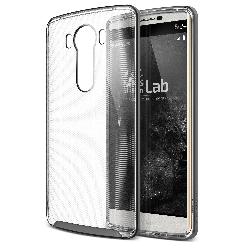 Verus Θήκη Crystal Bumper LG V10 - Steel Silver (904249)