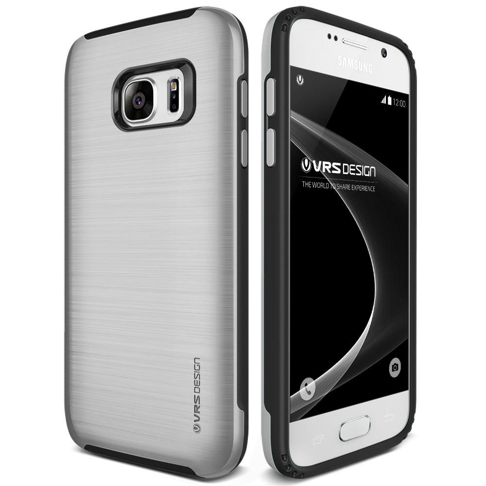 Verus Θήκη Verse Samsung Galaxy S7 - Satin Silver (VRSGS7-VGESS)