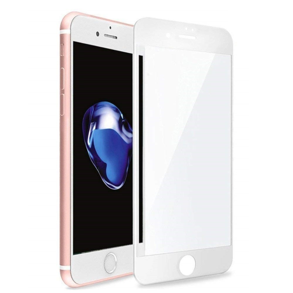Vivid Full Face Tempered Glass iPhone 6 / 6s /7 / 8 Plus - White (VITEMP11WH)