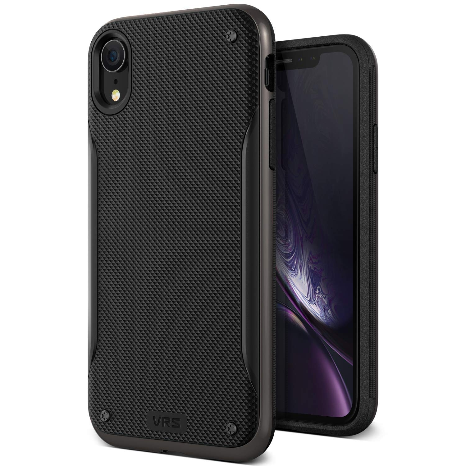 VRS Design Θήκη High Pro Shield iPhone XR - Black (VRS-IPXR-HPS-MBK)