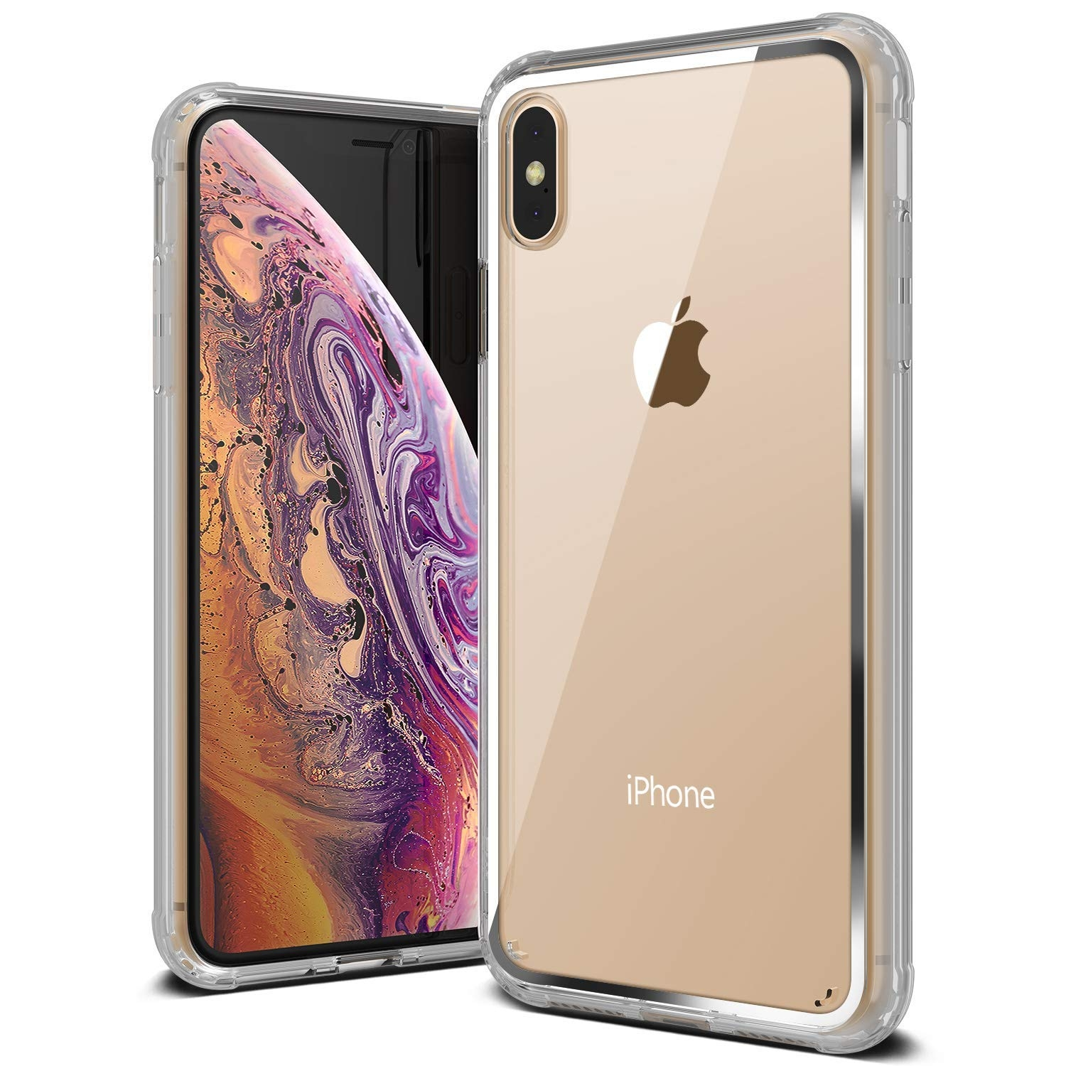 VRS Design Crystal Chrome iPhone XS Max - Clear (14664)