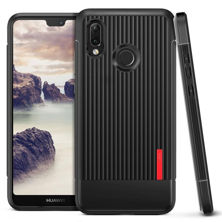 VRS Design Θήκη Single Fit Label Huawei P20 Lite - Black (VRSP20L-SFTBK)