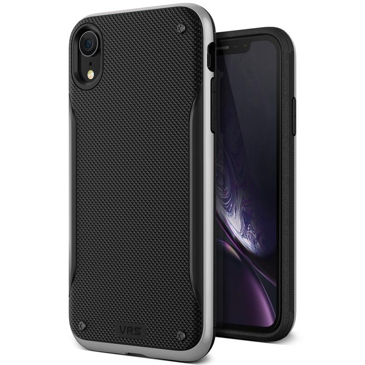 VRS Design Θήκη High Pro Shield iPhone XR - Silver (VRS-IPXR-HPS-STS)