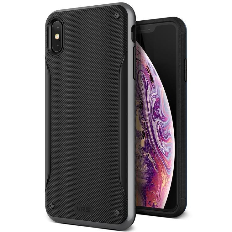 VRS Design Θήκη High Pro Shield iPhone XS Max - Silver (VRS-IPXSM-HPS-STS)