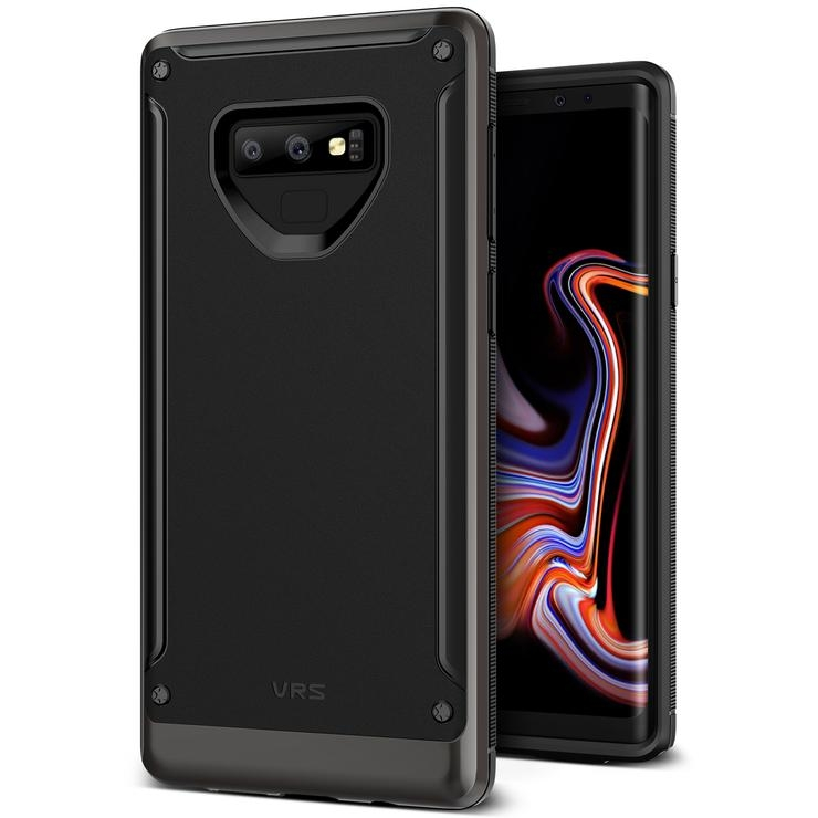 VRS Design Θήκη High Pro Shield Samsung Galaxy Note 9 - Metallic Black (VRS-GN9-HPS-MBK)