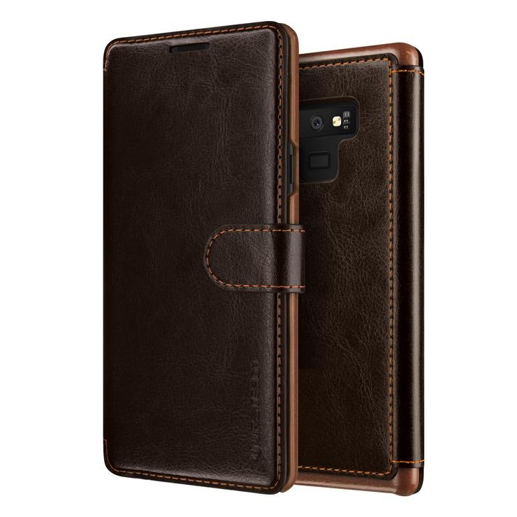 VRS Design Dandy Layered Θήκη - Πορτοφόλι Samsung Galaxy Note 9 - Brown (VRS-GN9-LDD-CBR)