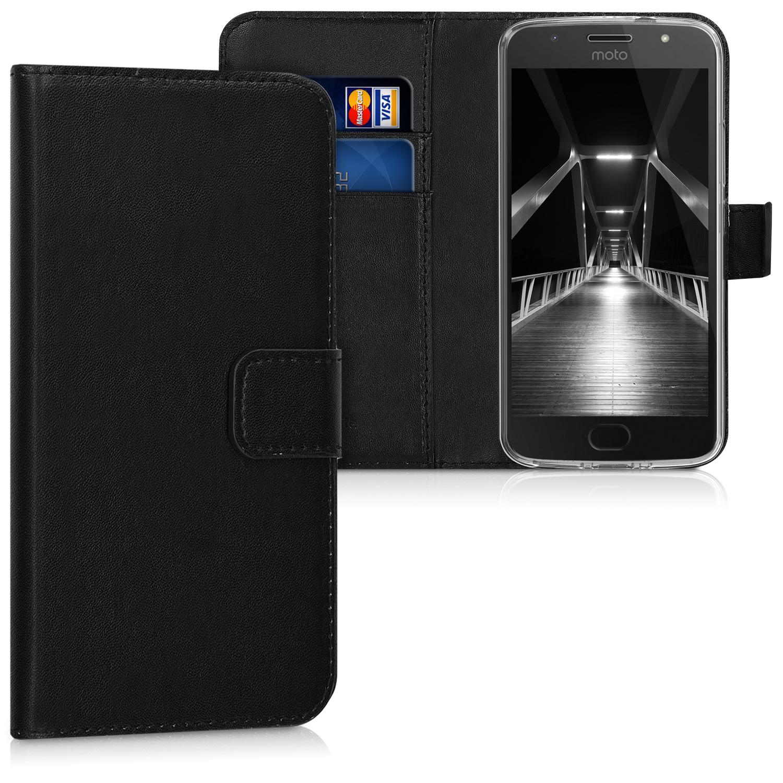 KW Θήκη - Πορτοφόλι Motorola Moto G5S - Black (42813.01)