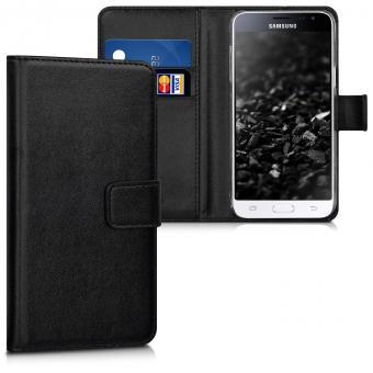 KW Θήκη Πορτοφόλι Samsung Galaxy J3 (2016) - Black (40583.01)