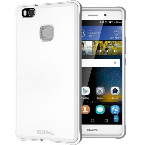 SHTL Θήκη TPU Carbon Huawei P9 Lite - White (9535)