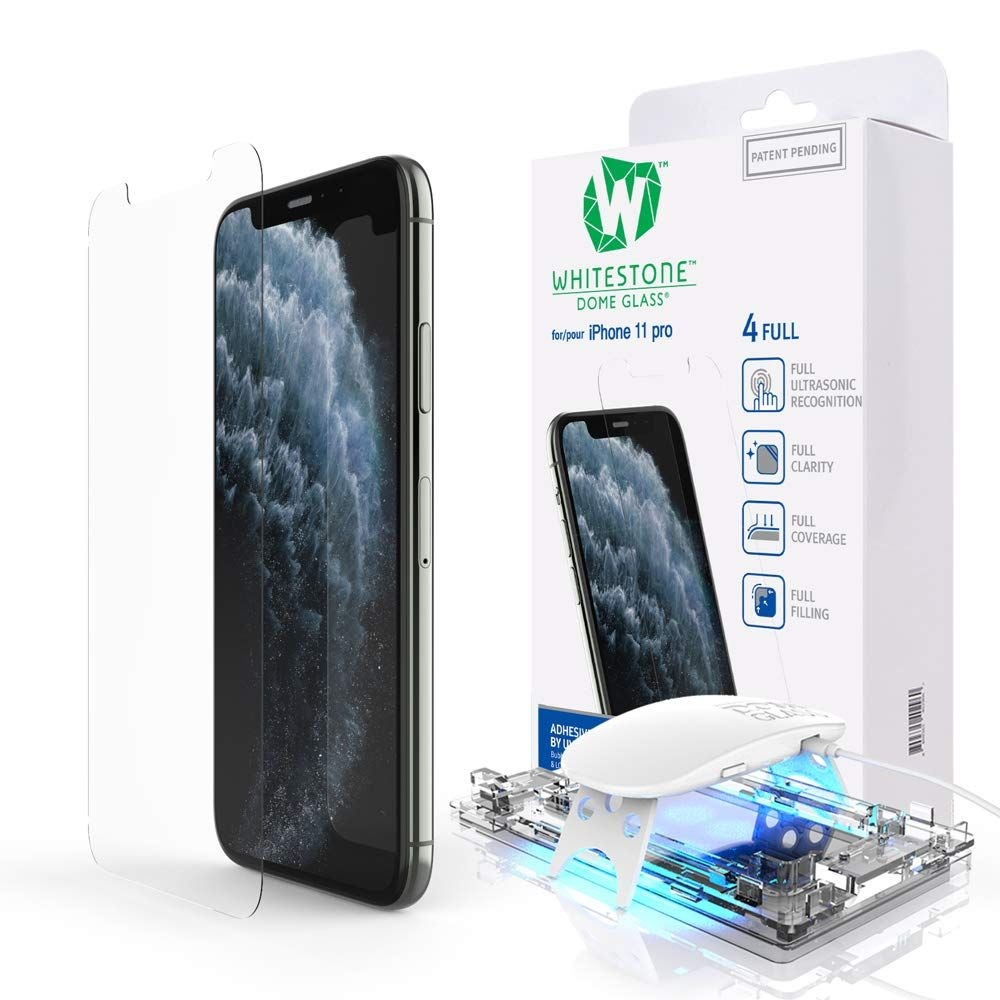 Whitestone Dome Glass - Liquid Optical Clear Adhesive & Installation Kit - Σύστημα προστασίας οθόνης iPhone 11 Pro (53656)