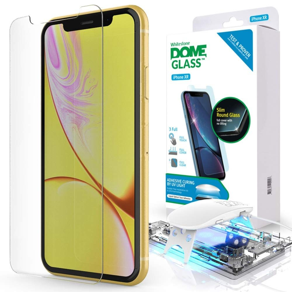 Whitestone Dome Glass - Liquid Optical Clear Adhesive & Installation Kit - Σύστημα προστασίας οθόνης iPhone 11 (53654)