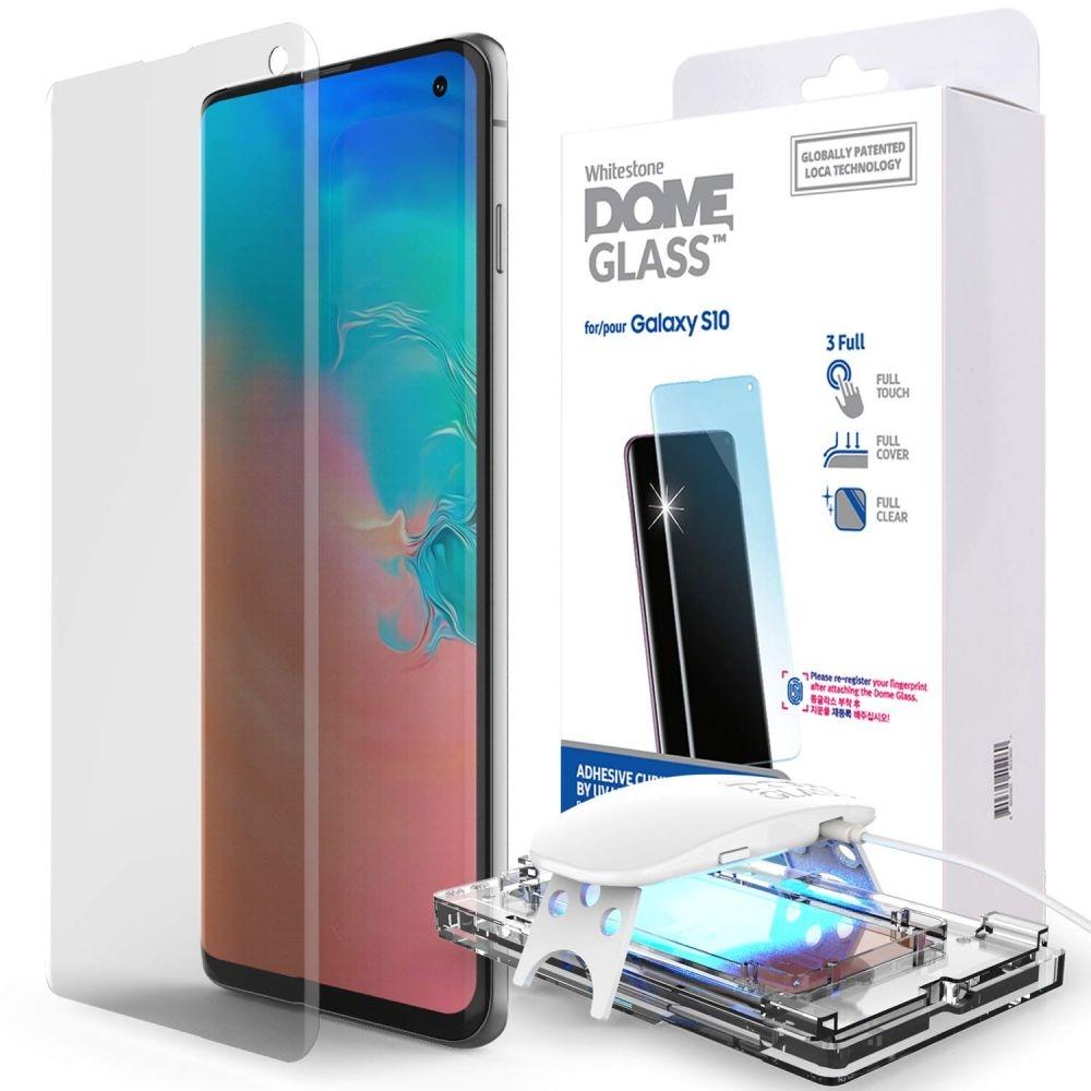 Whitestone Dome Glass - Liquid Optical Clear Adhesive & Installation Kit - Σύστημα προστασίας οθόνης Samsung Galaxy S10 (45227)