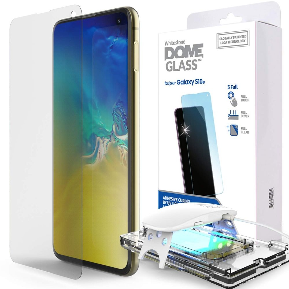 Whitestone Dome Glass - Liquid Optical Clear Adhesive & Installation Kit - Σύστημα προστασίας οθόνης Samsung Galaxy S10e (45228)