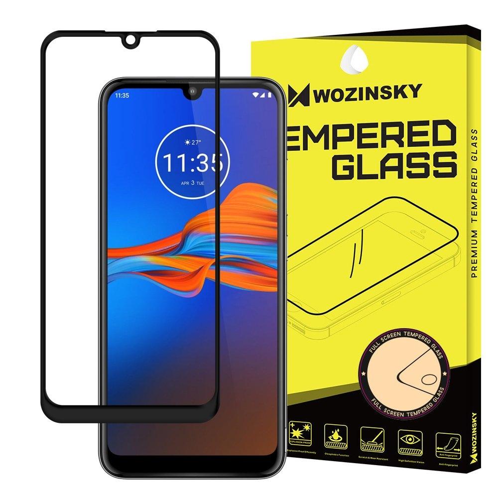 Wozinsky Tempered Glass - Fullface Αντιχαρακτικό Γυαλί Οθόνης Motorola Moto E6 Plus - Black (59475)