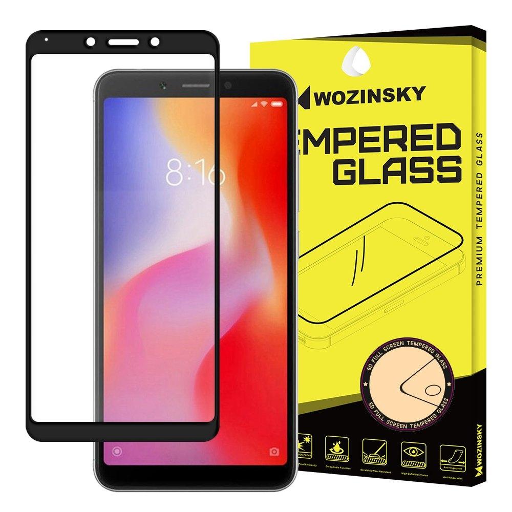 Wozinsky Tempered Glass - Fullface Αντιχαρακτικό Γυαλί Οθόνης Xiaomi Redmi 6A - Black (44472)