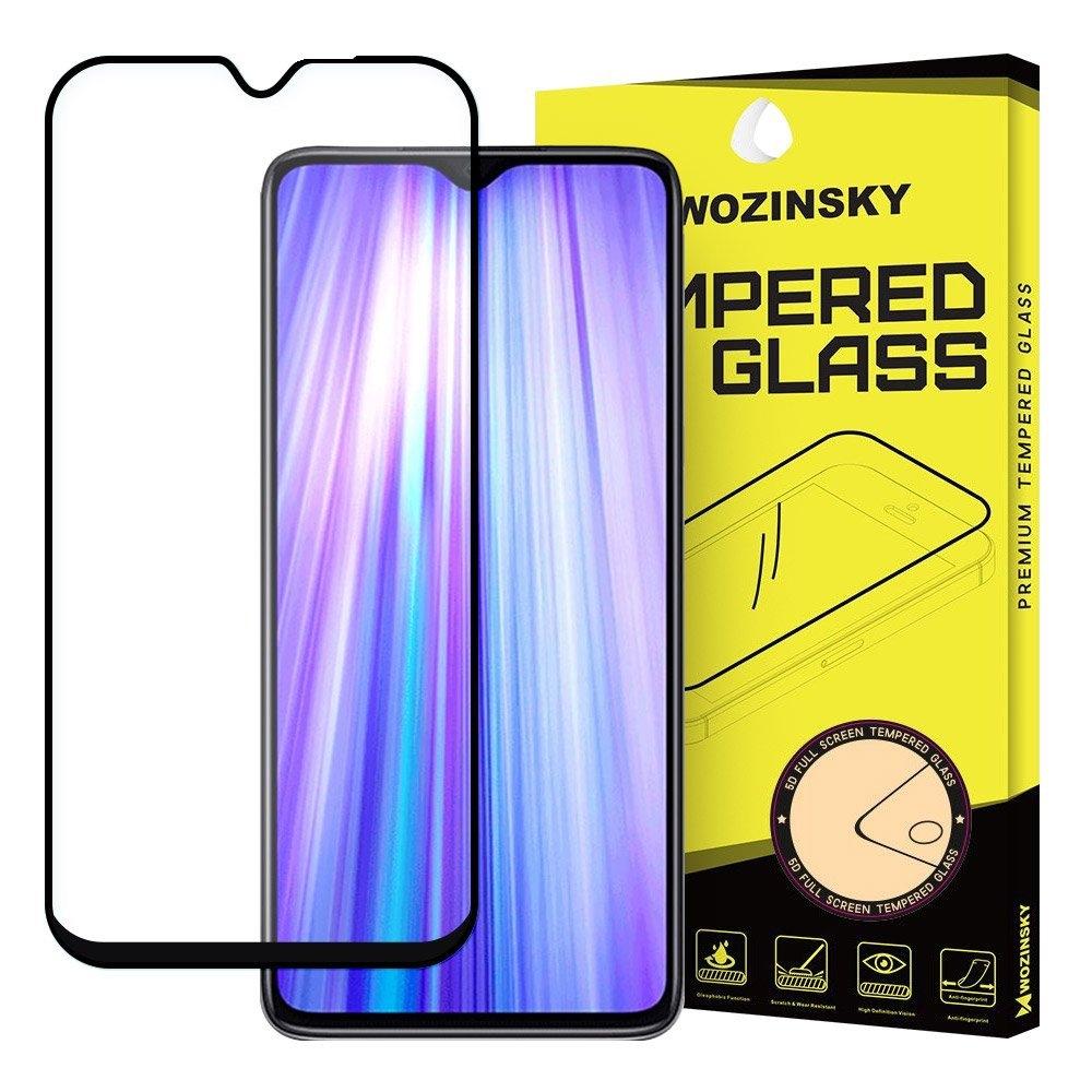 Wozinsky Tempered Glass - Fullface Αντιχαρακτικό Γυαλί Οθόνης Xiaomi Redmi Note 8 Pro - Black (62680)