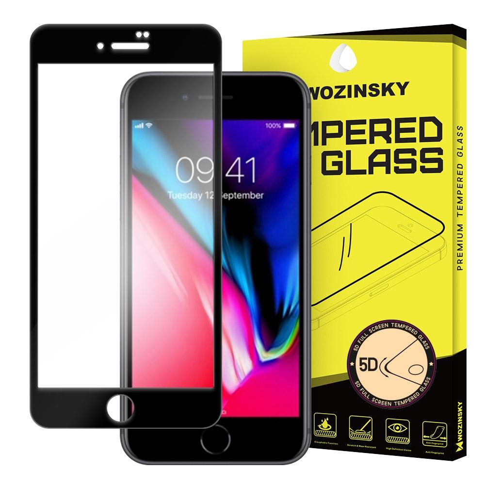 Wozinsky Tempered Glass - Fullface Αντιχαρακτικό Γυαλί Οθόνης iPhone 7 Plus / 8 Plus - Black (64616)