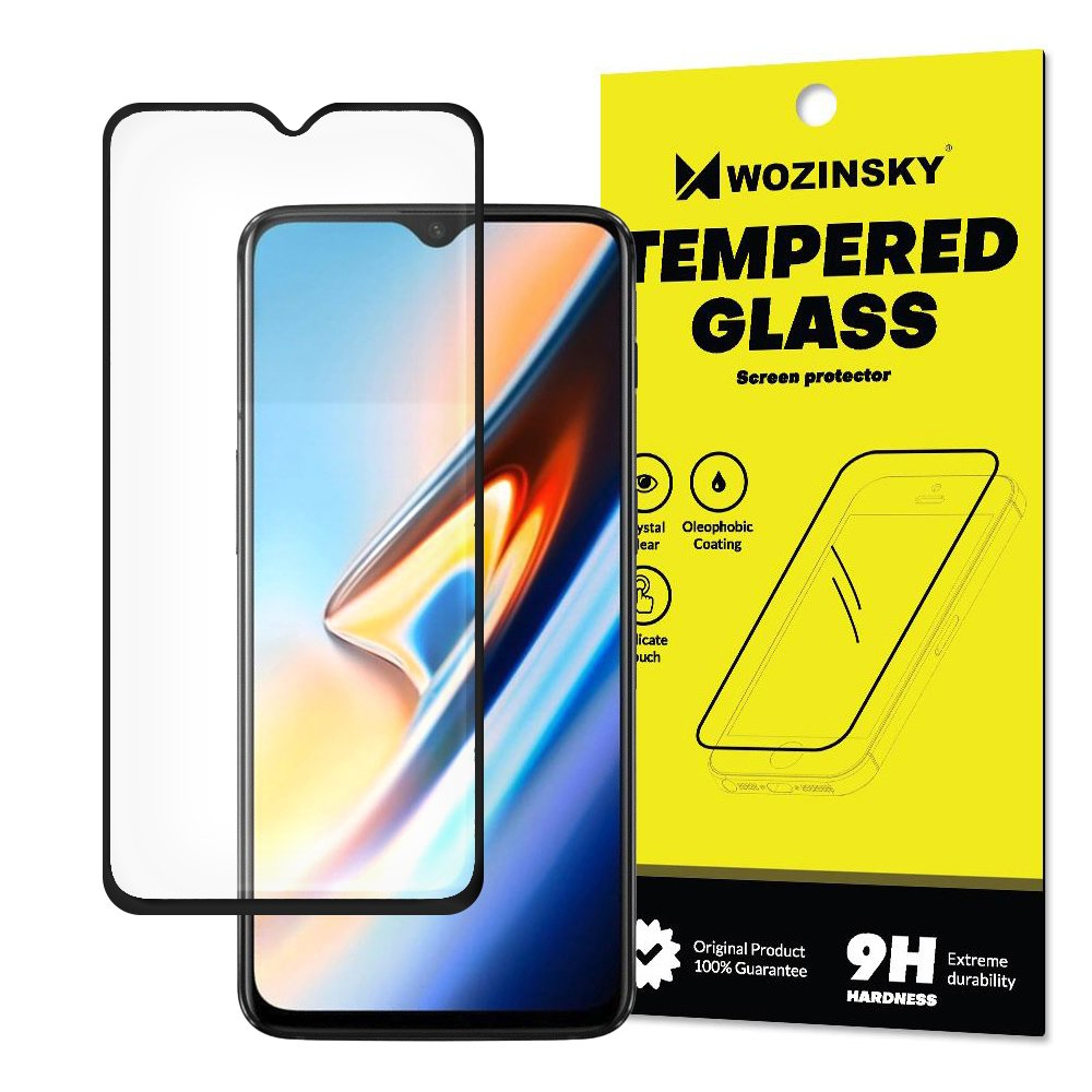 Wozinsky Tempered Glass - Fullface Αντιχαρακτικό Γυαλί Οθόνης OnePlus 6T- Black (14726)