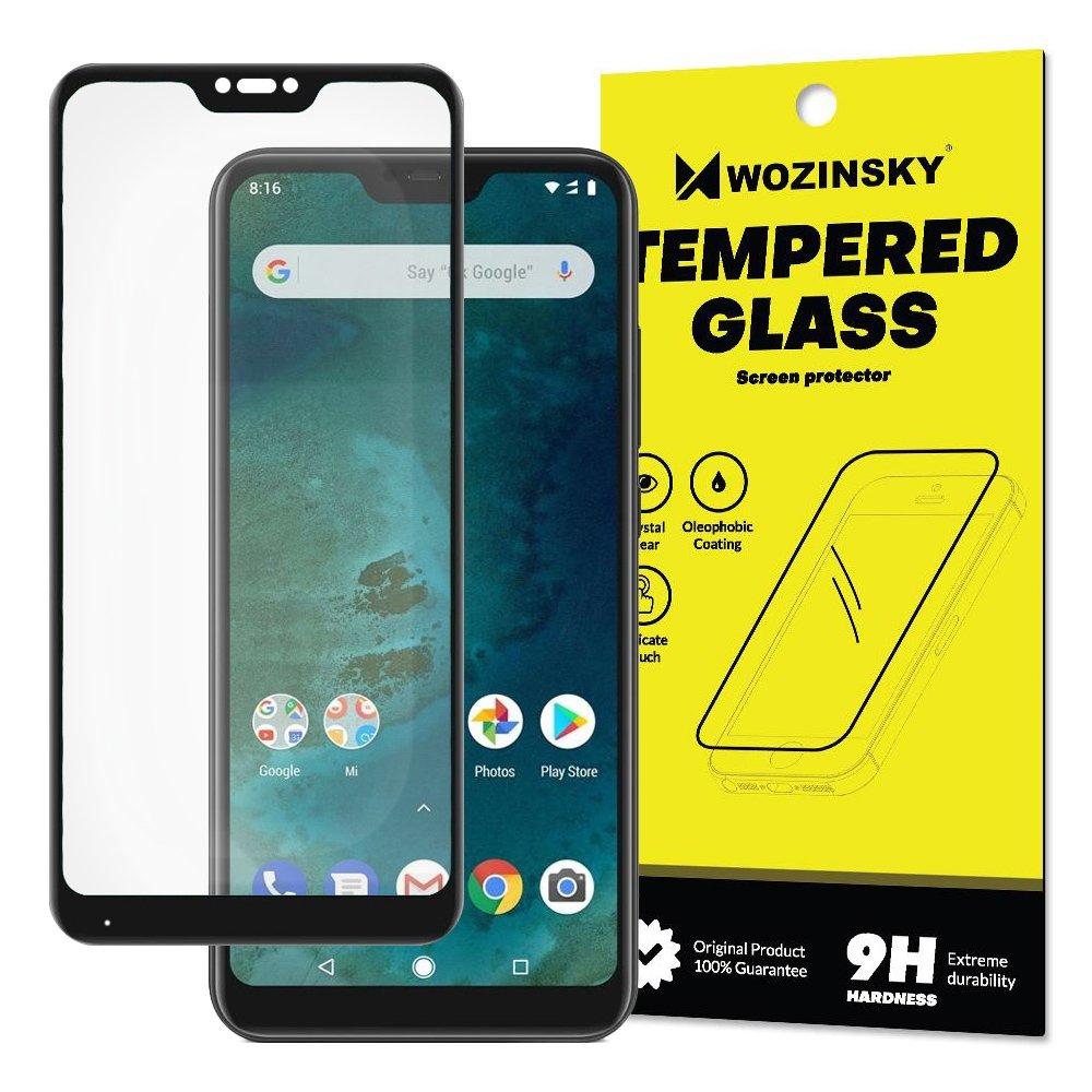 Wozinsky Tempered Glass - Fullface Αντιχαρακτικό Γυαλί Οθόνης Xiaomi Mi A2 Lite / Redmi 6 Pro - Black (14736)