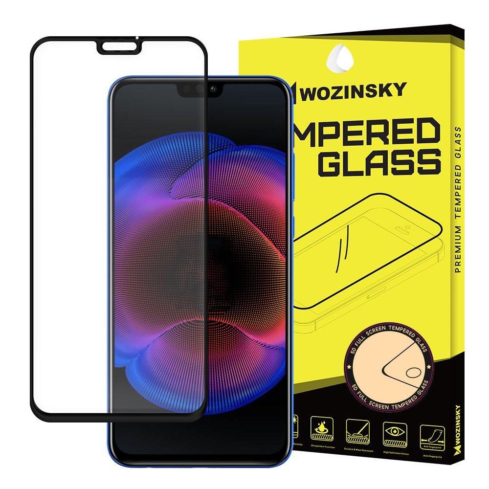 Wozinsky Tempered Glass - Fullface Αντιχαρακτικό Γυαλί Οθόνης Honor 8X - Black (44458)