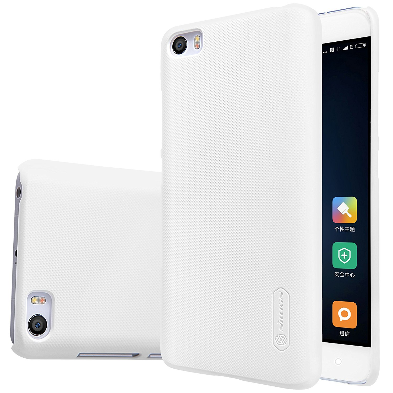 Nillkin Θήκη Super Frosted Xiaomi Mi 5 - White + Screen Protector (9449)