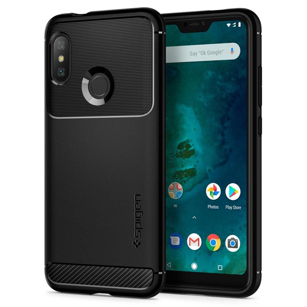 Spigen Θήκη Rugged Armor Xiaomi Mi A2 Lite / Redmi 6 Pro - Black (S28CS25599)