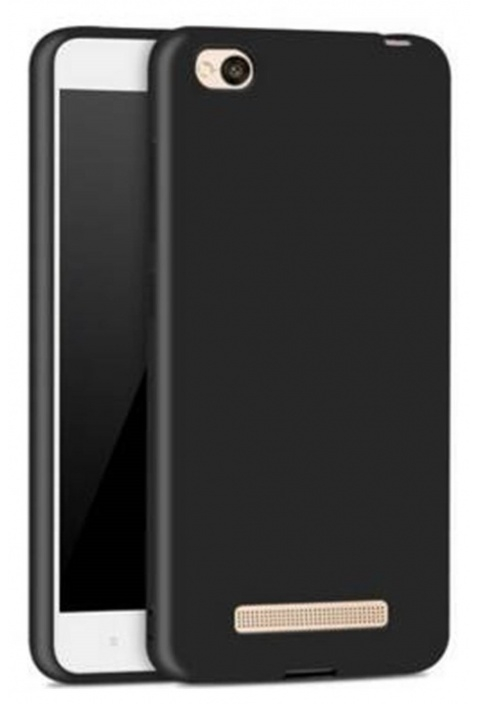 Official Xiaomi Θήκη Σιλικόνης Xiaomi Redmi 4A  - Black (NYE5629TY)