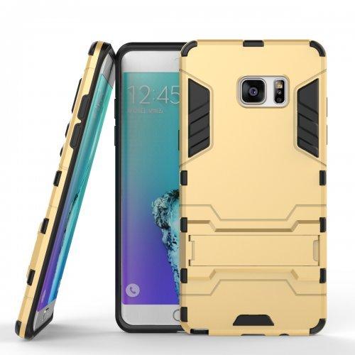 Ανθεκτική Θήκη με Stand Samsung Galaxy J5 (2016)  - Gold (9605) - OEM